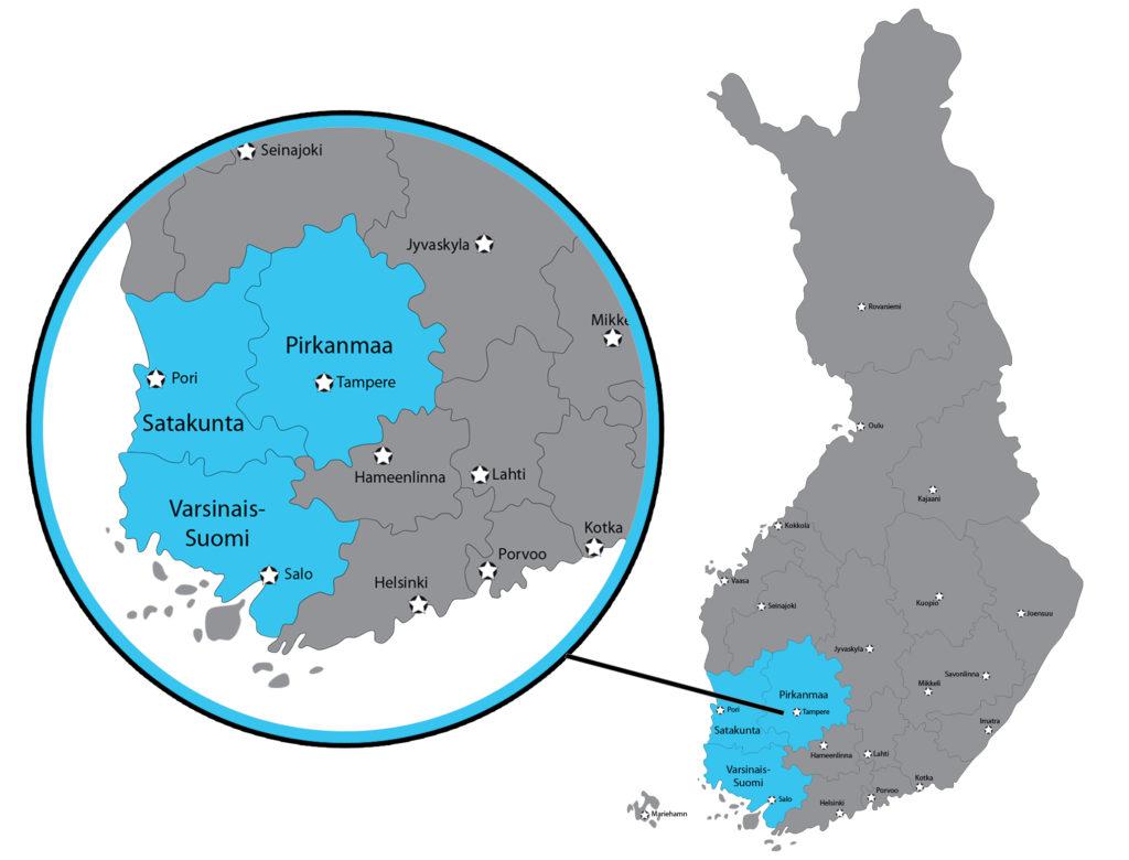 Peimet-toiminta-kartta
