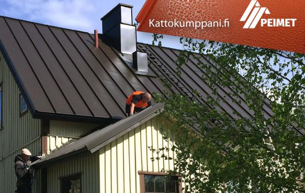 Kattoremontti Pirkanmaa Tampere