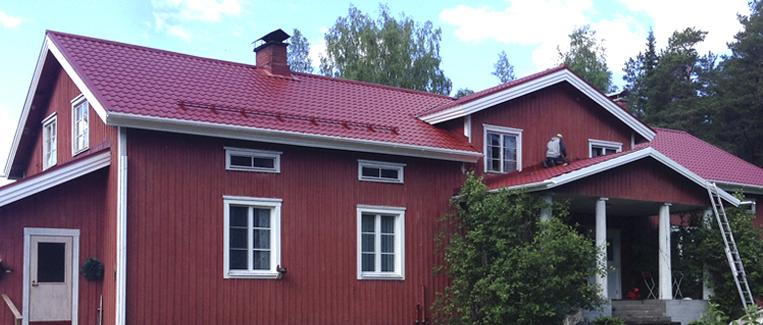 Peltikaton kattoremontti ja peltikaton uusinta