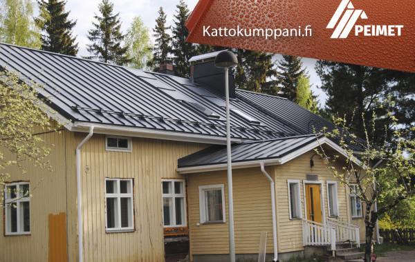 Vesikattoremontti/Kattoremontti Lukkosaumakatto Sastamala Pirkanmaa