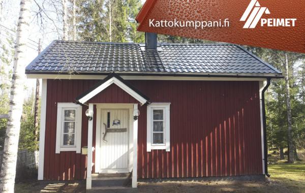 Mökki Kattoremontti Kauvatsa Kokemäki Satakunta