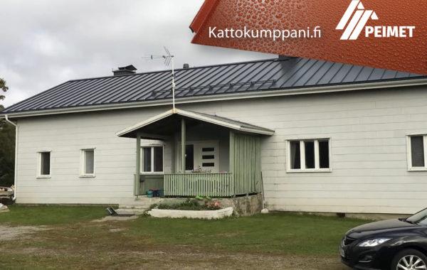 Omakotitalo Kattoremontti Pirkanmaa Sastamala Suodenniemi