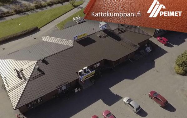 Kattoremontti/Vesikattosaneeraus Pirkanmaa Sastamala Äetsä